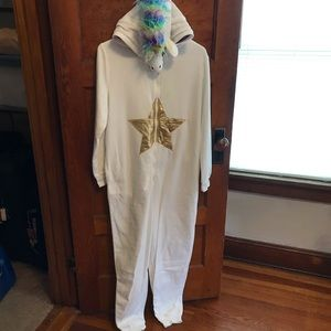 Xhilaration unicorn onesie